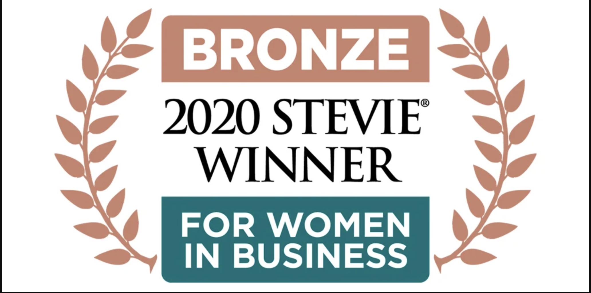 Stevie Award For Women in Business