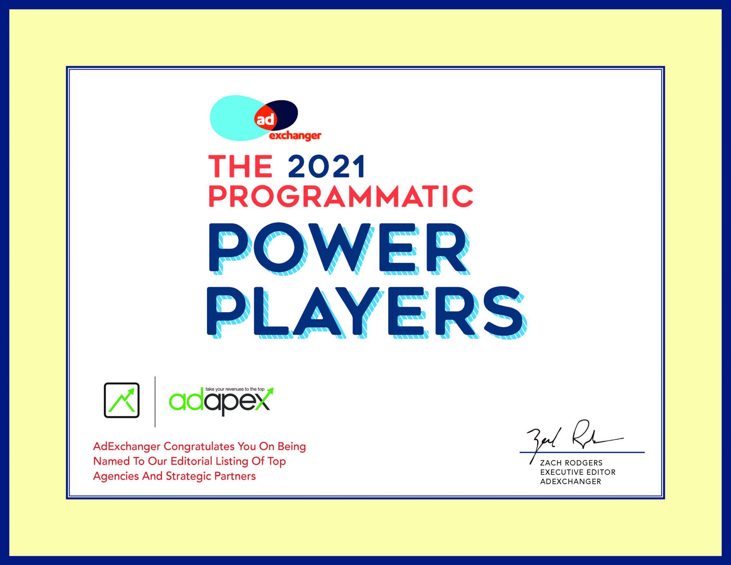 Adapex Power Player