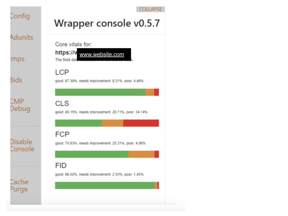 wrapper console