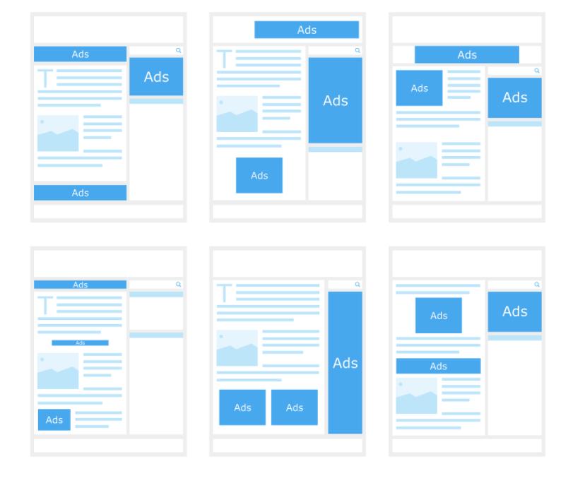optimized ad layout